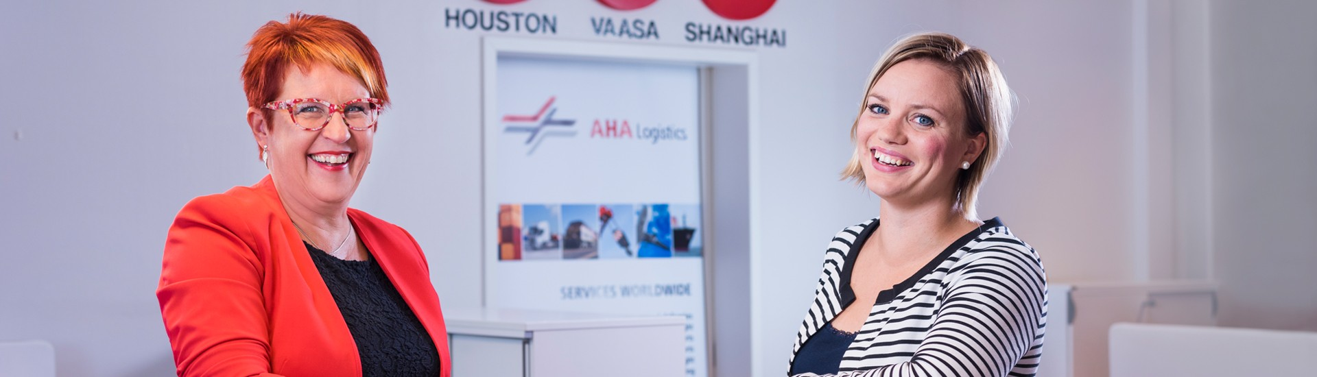 About us|Always ahead|Company presentation|AHA Logistics